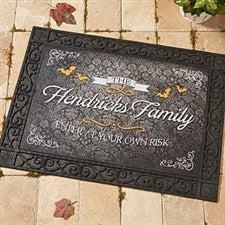 Personalized Doormats - Haunted Halloween - 14749