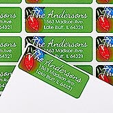 Personalized Return Address Labels - Holiday Lights - 14770