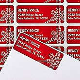 Personalized Holiday Address Labels - Joyous Season - 14772