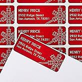 Personalized Holiday Address Labels - Joyous Season - 14772