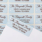 Personalized Christmas Return Address Labels - Happy Howlidays - 14778