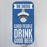 Personalized Bottle Opener - Beer Quotes - 14799