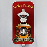 Personalized Magnetic Bottle Opener - Vintage Bar - 14800
