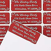 Personalized Holiday Return Address Labels - Oh What Fun! - 14805