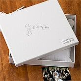 Personalized Wedding Keepsake Memory Box - 1484D