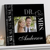 Personalized Wall Frame - Wedding & Anniversary - We Said I Do - 14850