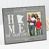 Personalized State Of Love Picture Frame - State Map - 14858