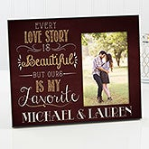 Personalized Picture Frame Romantic - Our Love Story - 14859