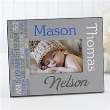 Personalized Picture Frame - Darling Baby Boy - 14861