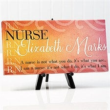 Inspiring Medica Professional Personalized Canvas Print - 14864