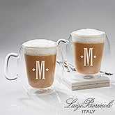 Personalized Luigi Bormioli Monogram Insulated Mug Set - 14880