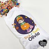 Personalized Precious Moments Halloween Treat Sack - 14888