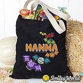 Personalized SmileyWorld Halloween Treat Bag - 14891