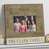 Personalized Wall Picture Frame - Our Loving Family - 5x7  - 14914