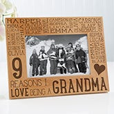 Personalized Wood Picture Frame For Her - Reasons Why - 14945