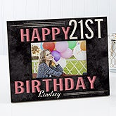 Personalized Picture Frame - Vintage Birthday - 14963