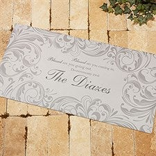 Personalized Doormat - Family Blessings - 14965