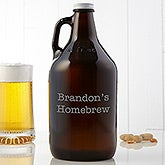 Personalized Beer Growler  - 14969