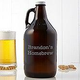 Personalized Beer Growler  - 14969