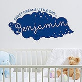 Personalized Vinyl Wall Art - Sweet Dreams - 14976