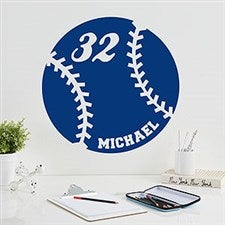 Personalized Vinyl Wall Art - Sports Kids - 14978