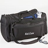 Embroidered Duffel Bag - Deluxe Weekender - 14993