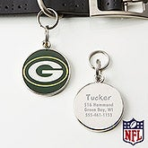 Personalized NFL Pet ID Tag - Green Bay Packers - 15045