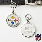 Personalized NFL Pet ID Tag - Pittsburgh Steelers - 15047