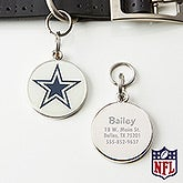 Personalized NFL Pet ID Tag - Dallas Cowboys - 15049