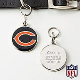 Personalized NFL Pet ID Tag - Chicago Bears - 15051