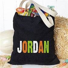 Personalized Halloween Trick or Treat Bag - All Mine! - 15138