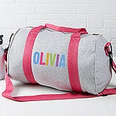 Personalized Girl's Duffel Bag - All Mine! - 15157