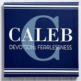 Personalized Canvas Print Wall Art For Boys - My Name Means  - 15174