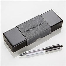 Personalized IT Pen Case and Stylus Pen Set - Business Professional - 15183