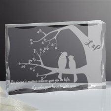 Personalized Romantic Keepsake - Love Birds - 15189