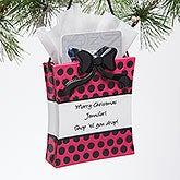 Personalized Christmas Ornament & Gift Card Holder - Shopaholic - 15197