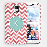 Personalized Samsung Galaxy S5 Chevron Monogram Hardcase - 15209