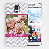Personalized Samsung Galaxy S5 Photo Chevron Hardcase - 15215