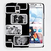 Personalized Samsung Galaxy S5 Modern Photo Collage Hardcase - 15216