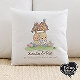 Personalized Precious Moments Throw Pillow - Wishing Well - 15240