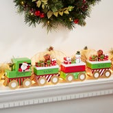 Personalized Christmas Mantle Figurine Collection - Santa's Village - 15274