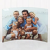 Personalized Photo Curved Glass Print - Favorite Photo - 15288