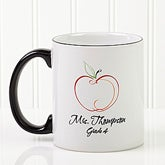 Personalized Teacher Ceramic Coffee Mug - Making The Grade - 1529