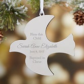 Personalized Relgious Ornament - Holy Dove - 15312