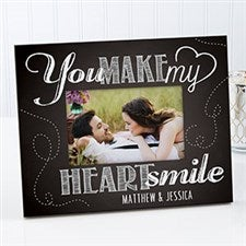 Personalized Photo Frame - You Make My Heart Smile - 15323
