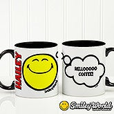 Personalized SmileyWorld Coffee Mug - Emotion - 15327