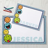 Personalized SmileyWorld Drawing Pad - 15328