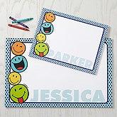 Personalized SmileyWorld Drawing Pad - 15328