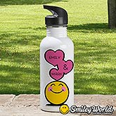 Personalized Water Bottle - SmileyWorld - 15331
