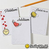 Personalized SmileyWorld Mini Notepads  - Love Notes - 15333
